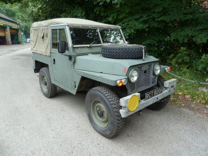 1971 Land Rover Series IIA - Lightweight