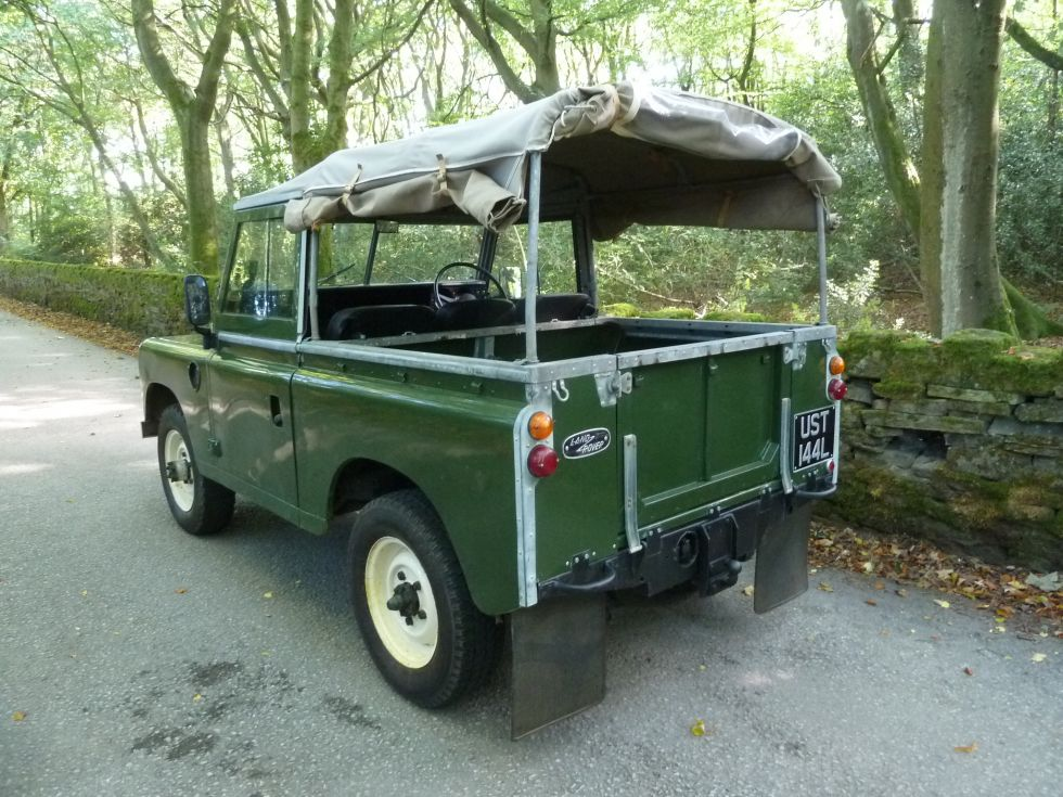 Tax Exempt Series 3 Land Rover