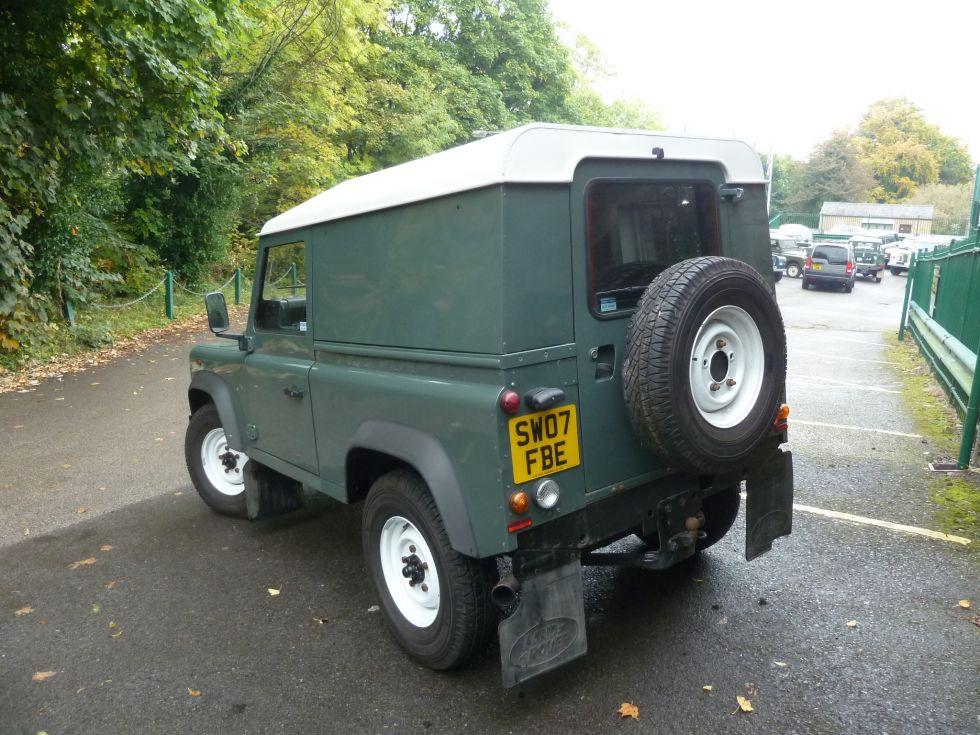 New Arrival 2007 Land Rover Defender 90 Keswick Green
