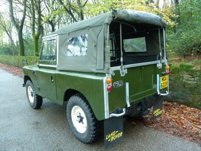 MGA 622V - 1979 Land Rover Series 3