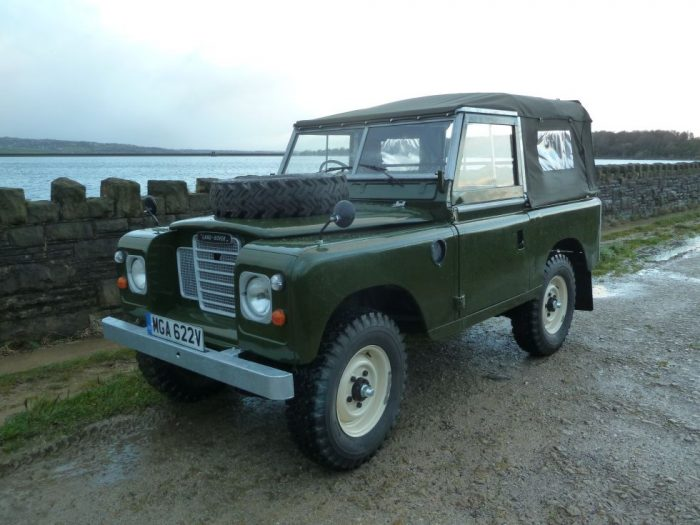 MGA 622V - 1979 Land Rover Series 3