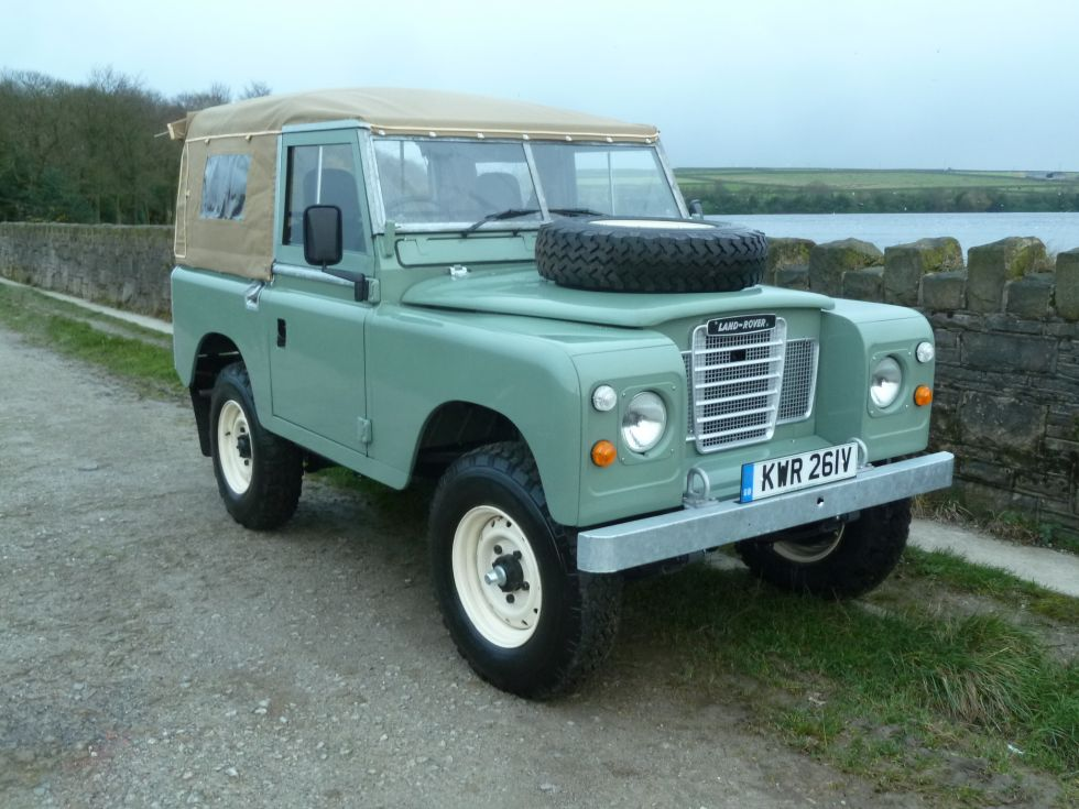 KWR 261V - Unique 1979 Land Rover Series 3 - Rebuilt from ...