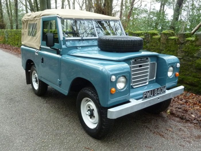 1973 Land Rover Series 3 - Galvanized Chassis