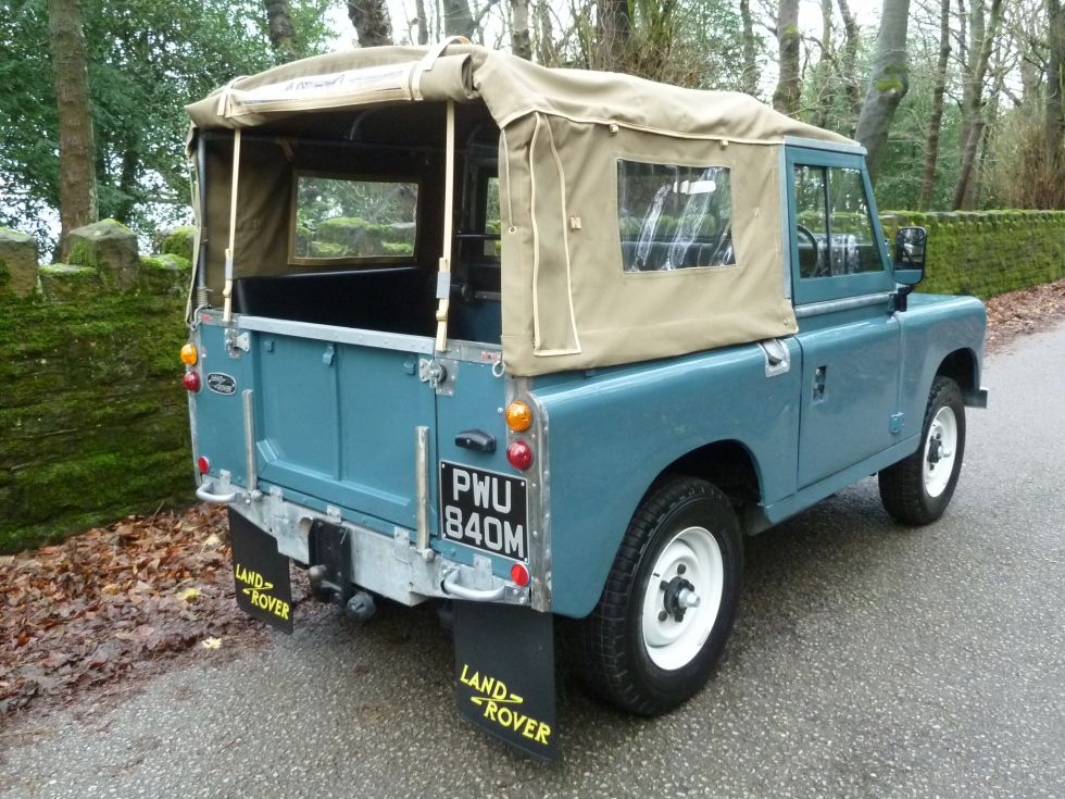 Pwu 840m 1973 Land Rover Series 3 Tax Exempt