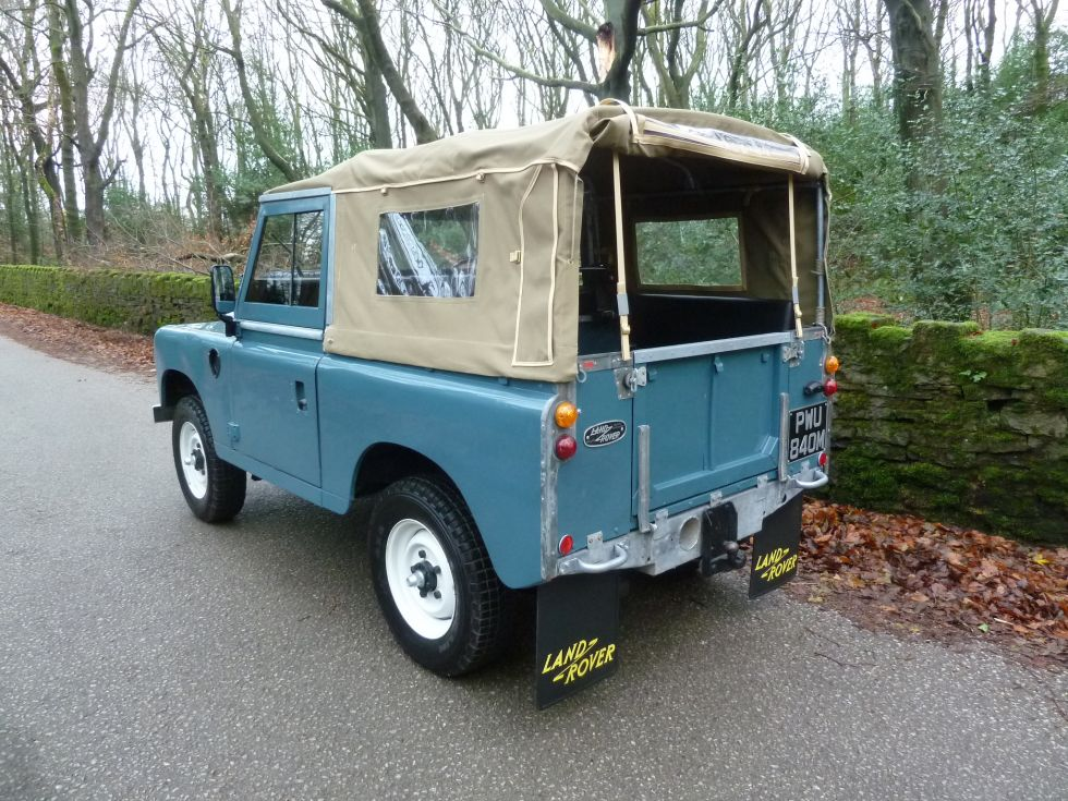 1973 Land Rover Series 3 - Tax Exempt
