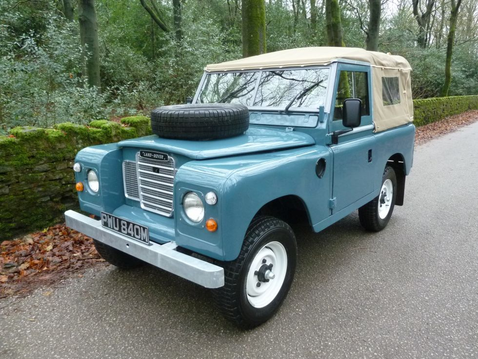 pwu 840m 1973 land rover series 3 tax exempt. Black Bedroom Furniture Sets. Home Design Ideas