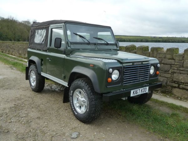 LHD Defender Soft Top