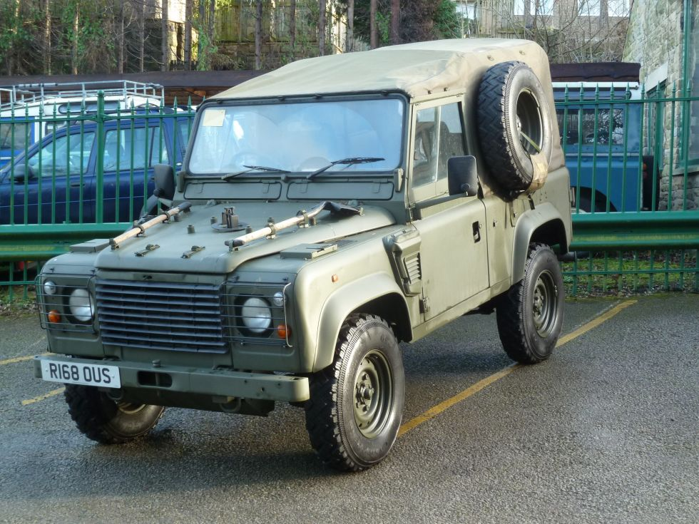 Land Rovers For Sale >> Genuine Land Rover Wolf - Land Rover Centre - Land Rover Centre