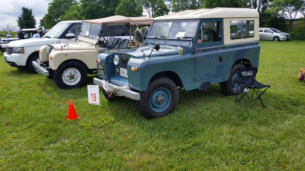 Blast from the past – 1967 Land Rover Series IIA