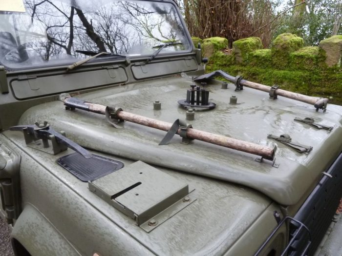 Land Rover 90 WOLF Soft Top