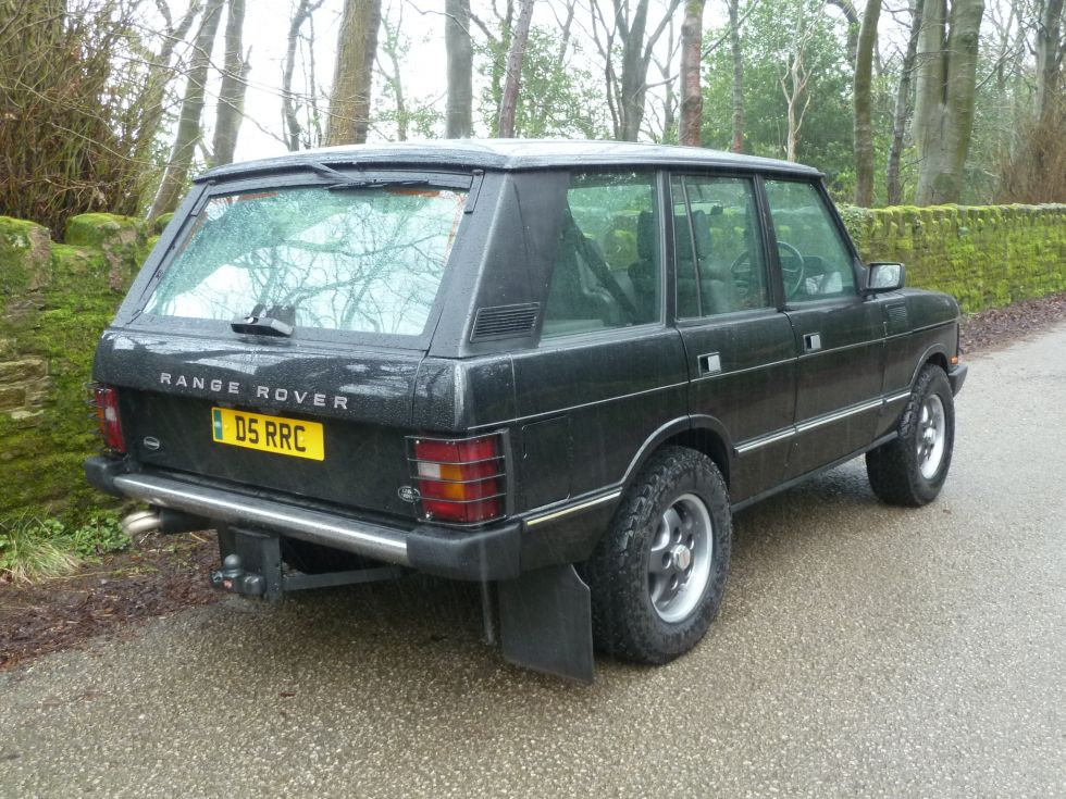 D5 Rrc 1989 Range Rover Classic 5 7i Overfinch Land