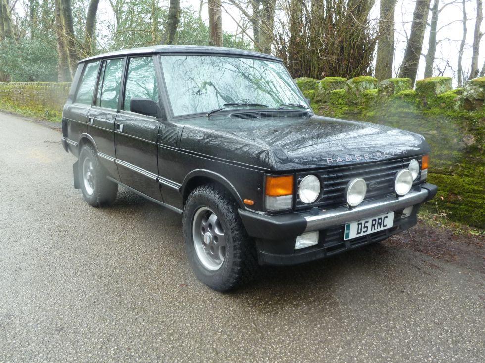 Service Manual 1989 Land Rover Range Rover Repair Line