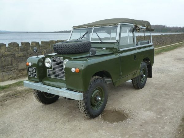1966 Land Rover Series 2A - Tax Exempt