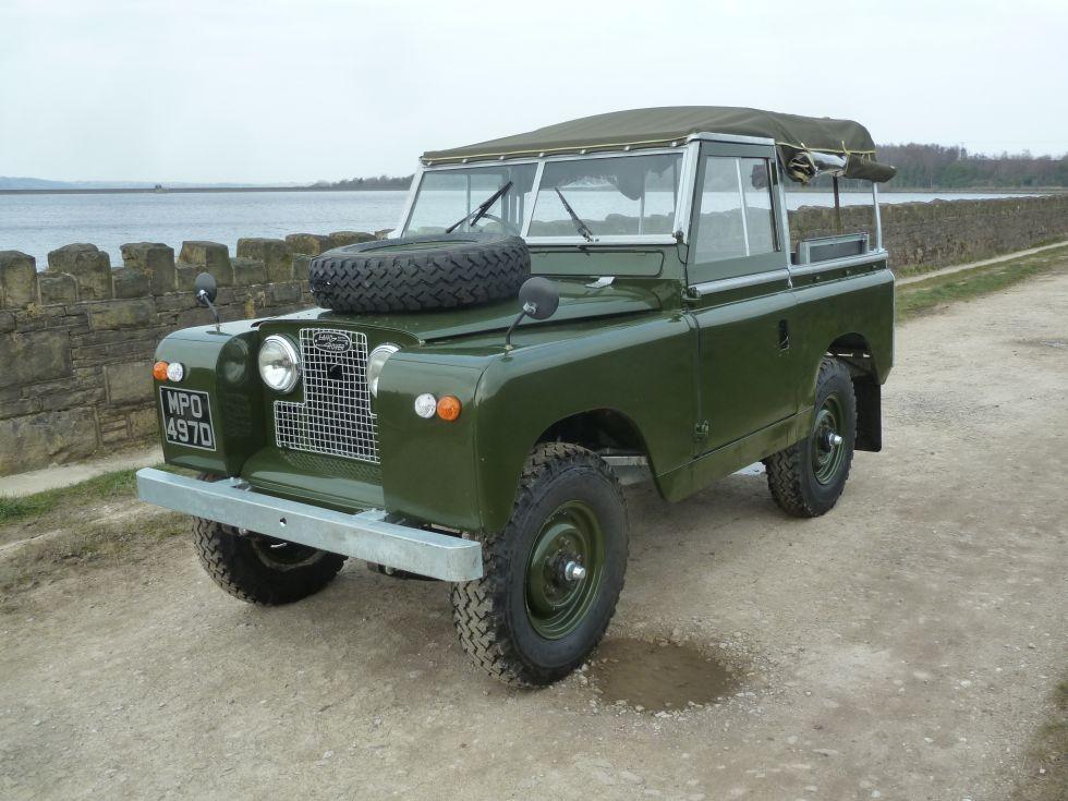 1966 Land Rover Series 2A - Tax Exempt