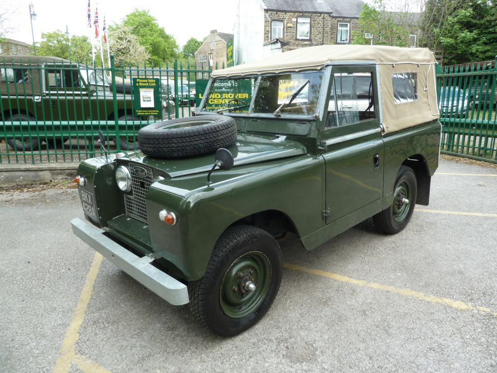 1961 Land Rover Series Ii Quot Survivor Quot Purchased By Steve