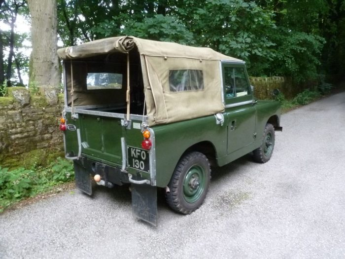 1963 Land Rover Series 2A - Low mileage survivor !