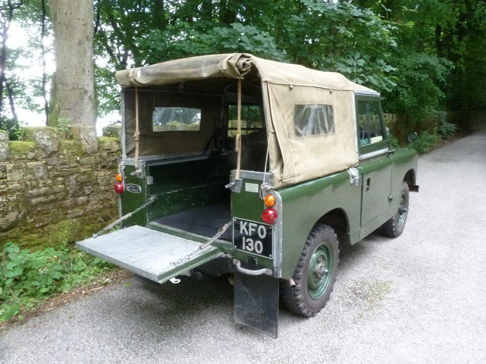 1963 Land Rover Series 2A - Low mileage survivor !