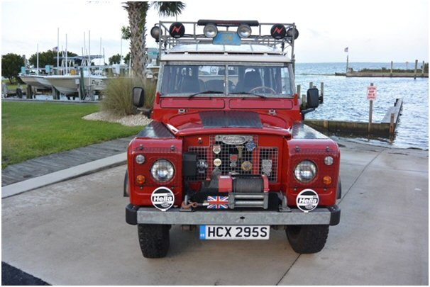 1978 Land Rover Series 3 station wagon