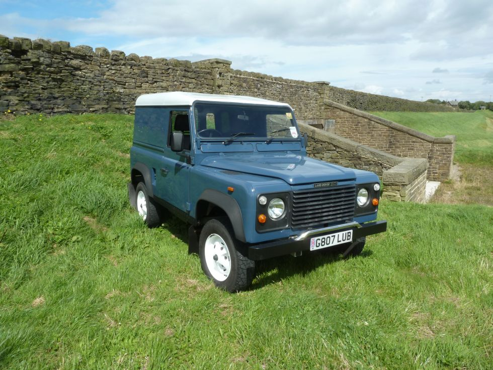 1989 Land Rover Defender - Galvanised chassis