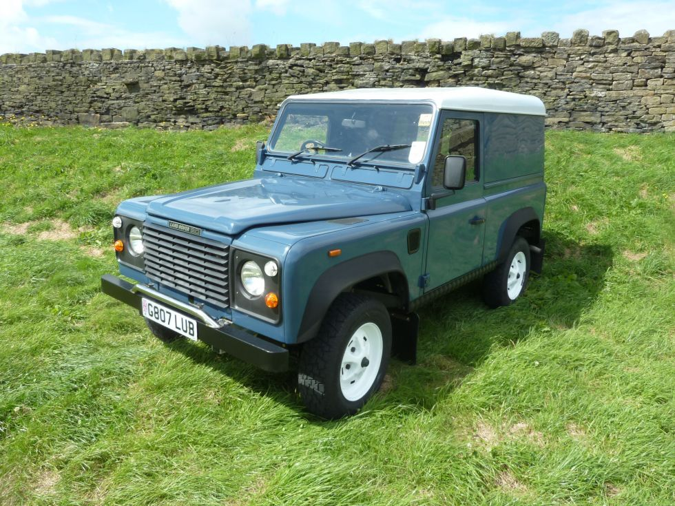 G807 Lub 1989 Land Rover Quot Defender Quot 90 Built To Last