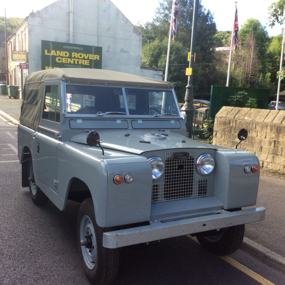 Left Hand Drive 1960 Land Rover Series 2