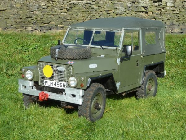 1974 Land Rover Light