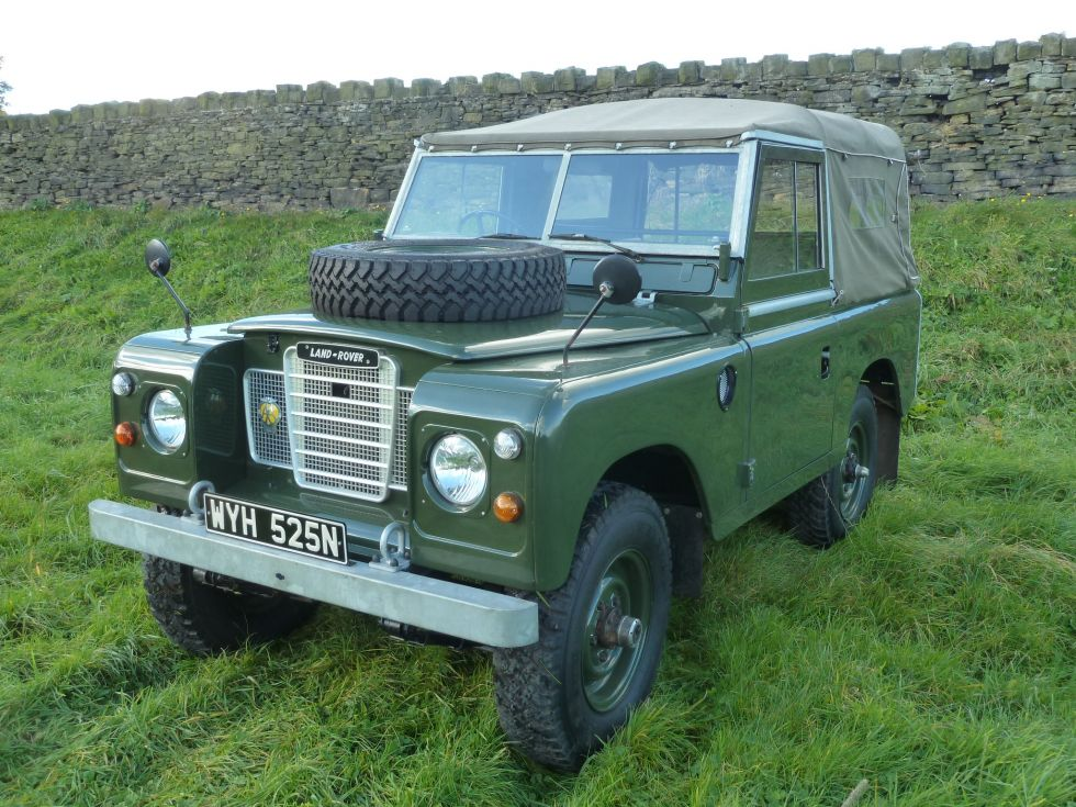 Land Rover Southampton >> 1974 Series 3 Soft Top - Purchased by Alastair in Colorado - Land Rover Centre