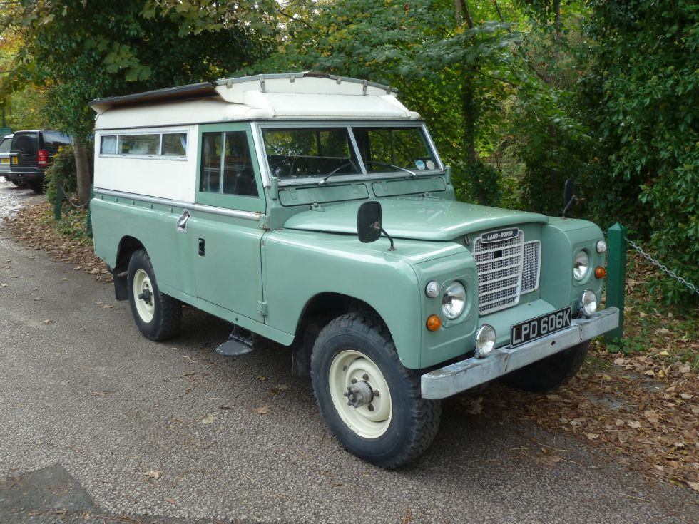 1972 Land Rover Searle Carawagon