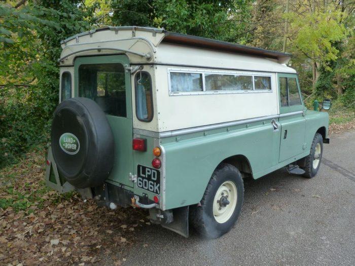 1972 Land Rover Searle Carawagon
