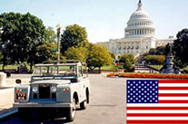 Classic Land Rovers for USA export