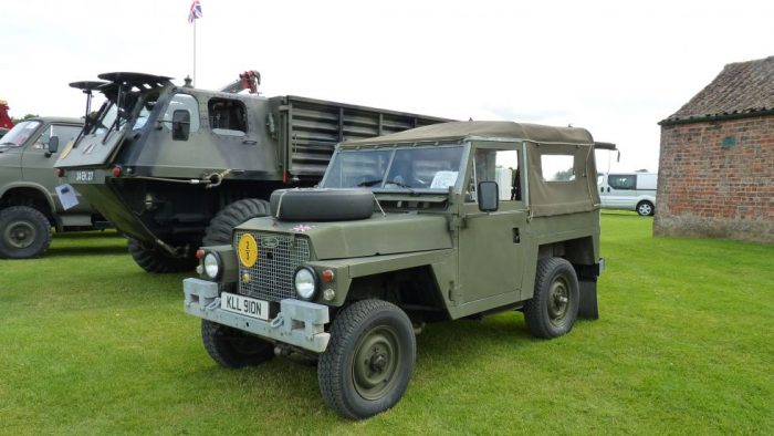 1975 Land Rover Lightweight