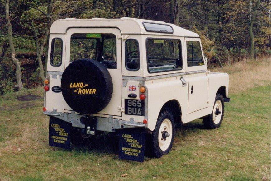 965 BUA 1962 Series IIA - Limestone - seen here in the Yorkshire Countryside