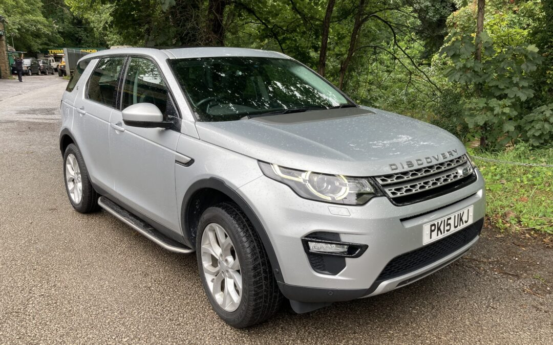 2015 Land Rover Discovery Sport – Purchased by Frances
