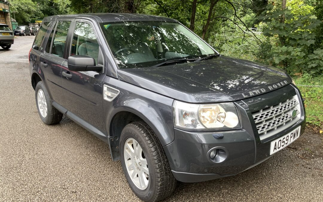 2009 Freelander 2 – Purchased by Julie and Nathan