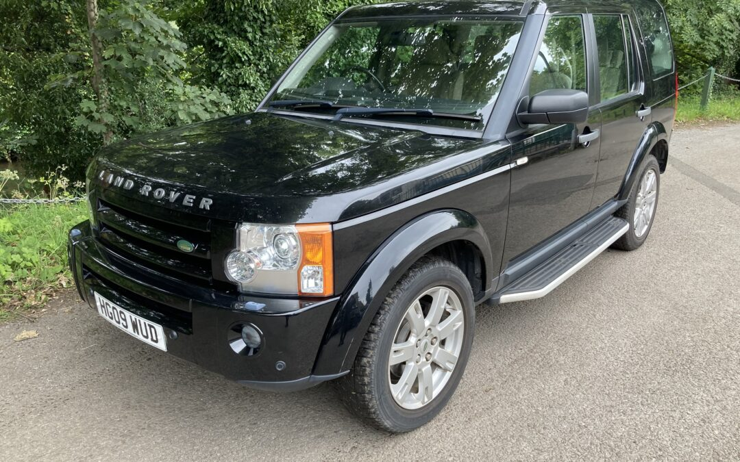 Low Mileage 2009 Discovery – Purchased by Linda and Bob