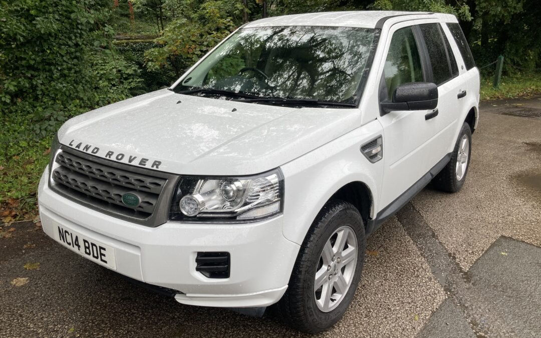 New Arrival – 2014 Freelander 2 – 35,500 miles – 1 owner from new !