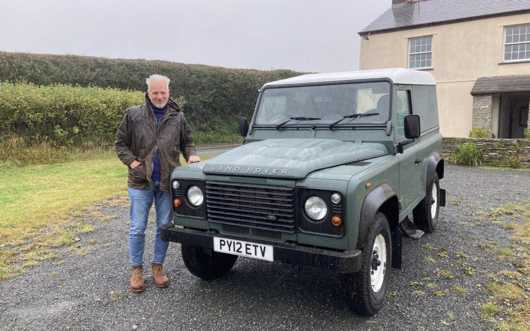 2012 Defender 90 – Delivered to Cornwall