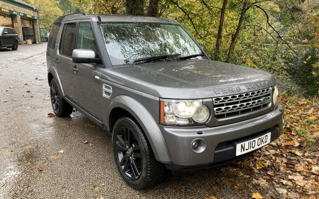 New arrival – 2010 Discovery 4 XS Auto – 86,000 miles