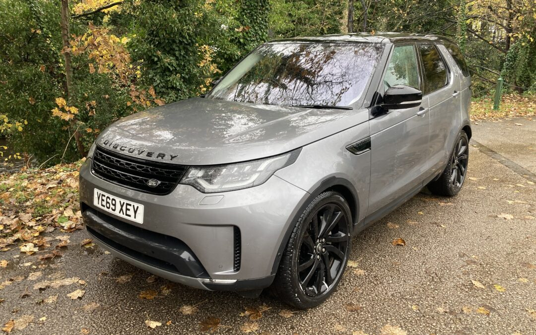 New Arrival – October 2019 – Discovery Commercial HSE – 5,500 miles !!