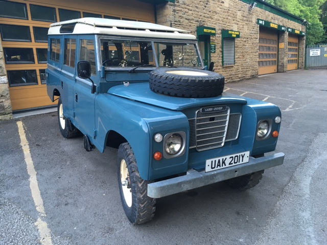1983 Land Rover 109 Station Wagon – Purchased by Nic from London