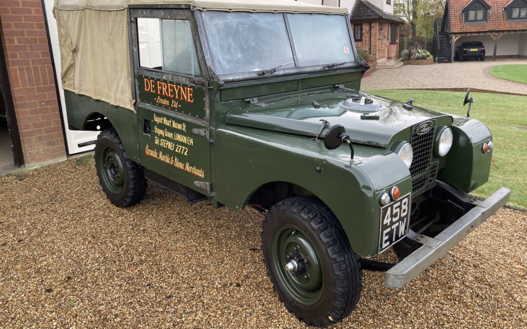 Fantastic Land Rover Series 1 Survivor – Collected from Ipswich