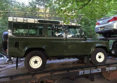 110 Defender - arrives in New York
