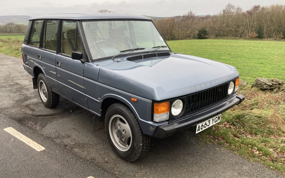 """New Arrival – 1983 """"In Vogue"""" Classic Range Rover"""