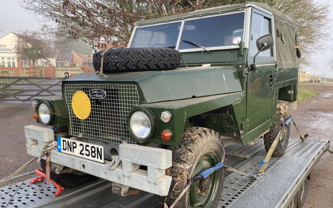 New arrival – Land Rover Lightweight