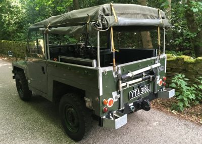 1972 Land Rover Lightweight - Galvanised Chassis