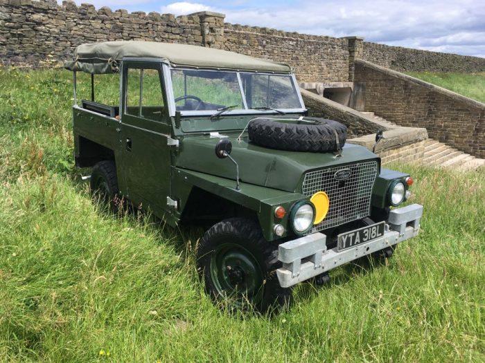 1972 Land Rover Lightweight