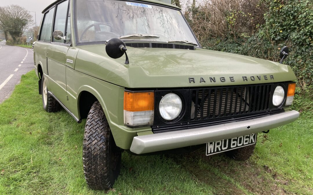 Classic Range Rover Diesel – Delivered to Geraint in South Wales