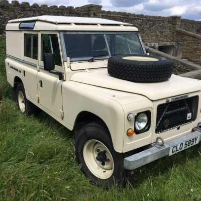 land rover 109 V8 Stage 1
