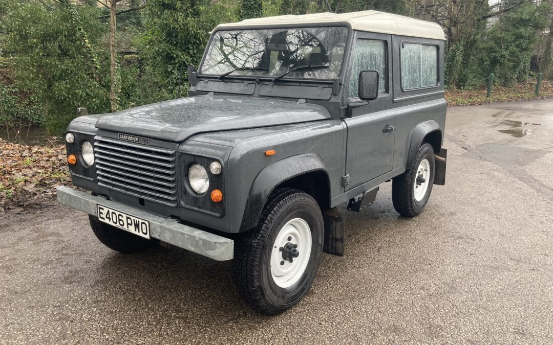 """USA Export Drive – 1987 Land Rover """"Defender"""" – Purchased by Frank"""