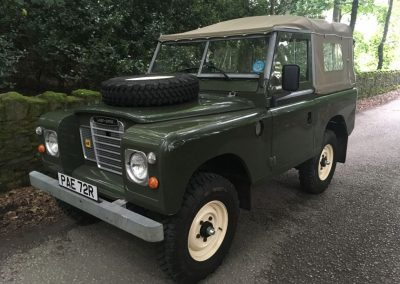 1977 Land Rover Series 3
